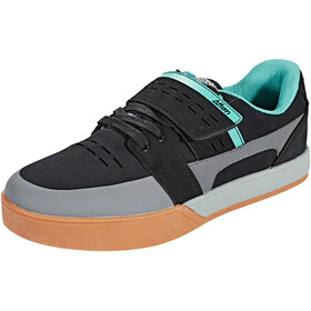 Afton Shoes Vectal Klickpedal Shoes Men black/turquoise